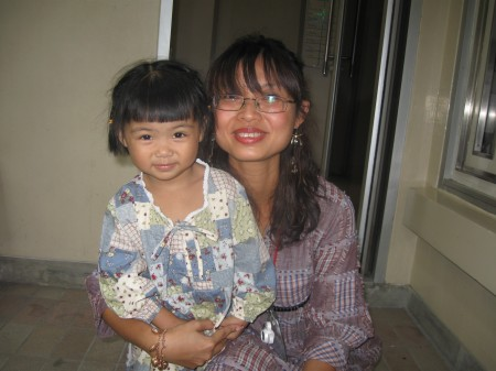 One of my best friends at Mercy ~ Nitaya and her youngest daughter